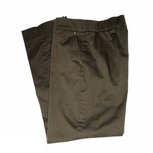 Simonton Says Army Green Stretch Ankle Pants
